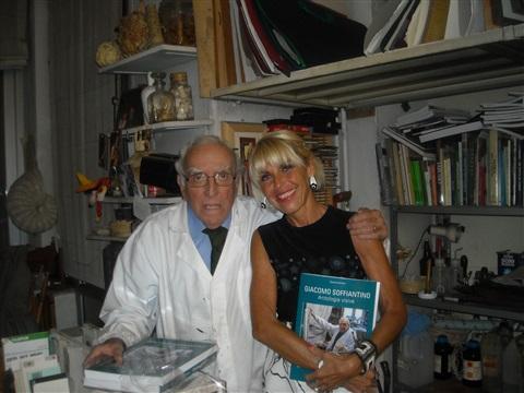 Un indimenticabile incontro con Giacomo Soffiantino, fra conchiglie, bucrani,e un'antica cortesia